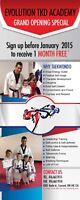 Taekwondo! Only $29/month! Sign up now! Anti-Bullying