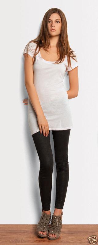b1f99e4a64d87 Bella Womens NEW Size S-2XL Cotton Spandex Black Leggings Sport Pant 812  Ladies