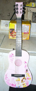 Disney Princess 6 String Pink Mini Guitar for beginers