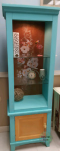 Re styled display unit cabinet