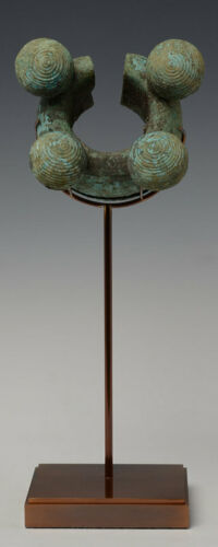 500 B.C., Dong Son Bronze Bangle with Bells