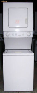 Whirlpool Compact Stacking Washer Dryer, 1 year warranty