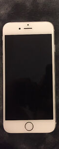 Iphone 6, Silver. 64gb. Company is Rogers.