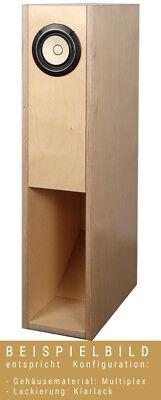 AOS BK 12M Kit de Altavoz Con Caja de Madera MDF Incl....