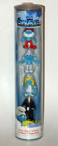 The Smurfs Grab 'Ems Escape From Gargamel 4-Pack Figurines