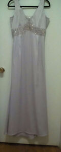 Le Chateau light Lilac long gown / dress with beads Worn once