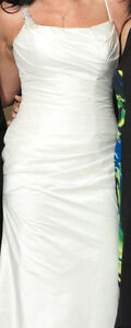 Wedding Dress for sale includes train size 10