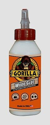 New Gorilla Glue Wood Glue 8oz Adhesive High Strength Cures In 24 Hrs 6200002