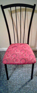 Dining table with leaf and 4 chairs Stratford Kitchener Area image 3