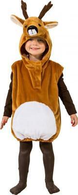 Reh Weste Elch Wildtier Tier Waldtier Rentier Hirsch Geweih Kostüm Overall - Weißes Geweih Kostüm