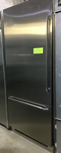 "Dacor 36"" built in bottom freezer PRICE $3500"