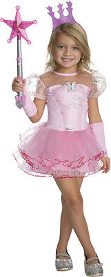 Girls Wizard of Oz Glinda Costume Tutu Fancy Dress Child Kids Good Witch Pink (Good Witch Costume Kids)