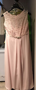 After Five Bridesmaid dress with crystal detail at waist