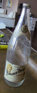 Vintage Garrett's Virginia-Dare Embossed Wine Bottle Kitchener / Waterloo Kitchener Area image 1