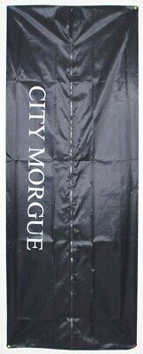 CITY MORGUE SKELETON DEAD BODY BAG 6' FT HALLOWEEN PROP BLACK CRIME SCENE MURDER](Halloween Murders)