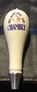 BLANCHE DE CHAMBLY CERAMIC DRAFT BEER TAP HANDLE