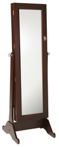 Mirror with Jewelry Cabinet