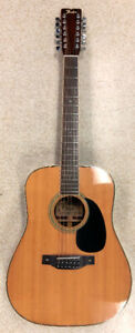 Fender (F-80-12) 12 String Acoustic Guitar Japan (1976) $399.99