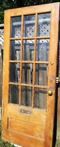Antique French Provincial Main Entrance solid wood Door