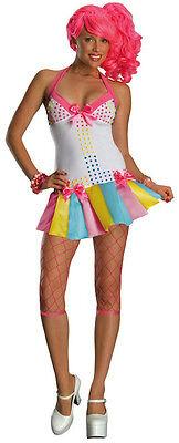 Secret Wishes Women's Candy Girl Lollipop 80s Fancy Dress Up Costume Size (Lollipop Girl Kostüm)