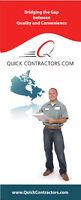 Local Handyman, Plumbers, Electricians, Gas or Other