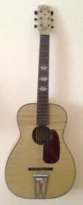 Vintage Rare Harmony Stella Acoustic Parlor Guitar Made in USA