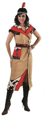 Sexy Indianer Kleid Kostüm Squaw Apache Sioux Indianerin Cow Girl - Sexy Cow Girl Kostüm