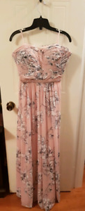 Blush Pink Floral Dress