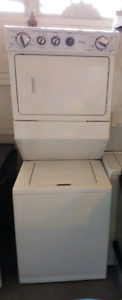 Two washer and dryer set