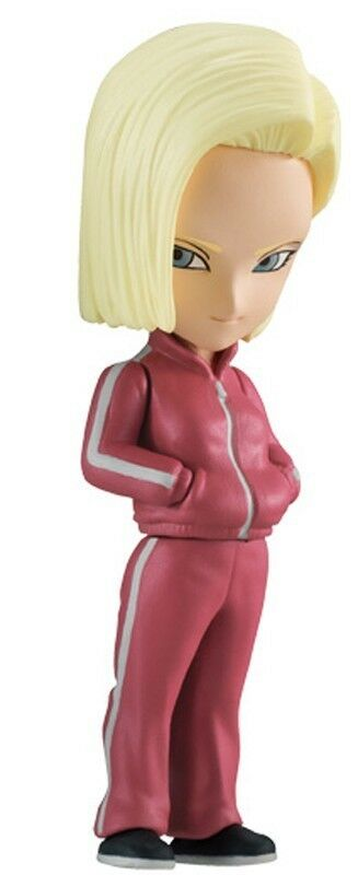 Dragon Ball GT Super Adverge Volume Series  7 Android 18 2-Inch Mini Figure new!