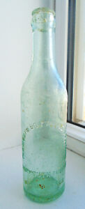 Antique 1910s Yarmouth Bottling Company Soda Pop Bottle - N.S.