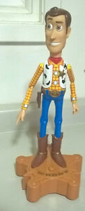 "Disney 15"" Talking Woody Room Guard Toy Story 2 Figurine"