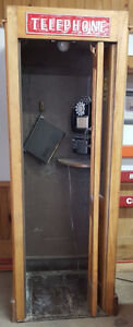 Western Electric Bell Wooden Store Public Phone Telephone Booth Kawartha Lakes Peterborough Area image 5