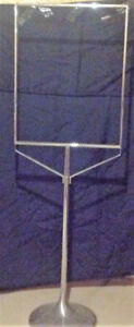"""Set of 2x Standing Sign Holders - Holds Signs 22"""" W by 28"""" H"""