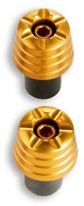 NEW!!! Ducati Handlebar Weights- YELLOW