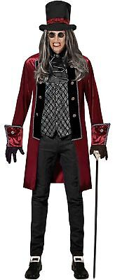 Graf Alucard Vampir Kostüm für Herren NEU