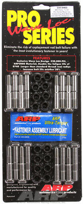 "Arp for 235-6403 bbc Chevy 7/16"" pro wave-loc rod bolt kit"