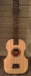 antique vintage Bontepi guitar