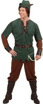 Robin Hood Peter Pan Jäger Girl Kostüm Kleid Mittelalter Damen Herren Bogen Hut