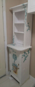 Beautiful Cabinet and Hutch for sale