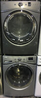 """27"""" WHIRLPOOL WASHER & DRYER SET FRONT LOADERS $1499"""
