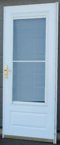 3/4 light panel style Storm/Screen Door