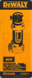 *NEW* DEWALT DC550B 18-Volt Cordless Cut-Out Tool