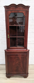 Regency Style Corner Cabinet (DELIVERY AVAILABLE)