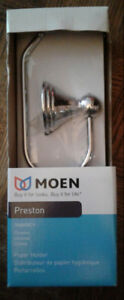 Moen Preston chrome paper holder - NEW unopened