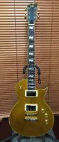 LTD gold electric guitar