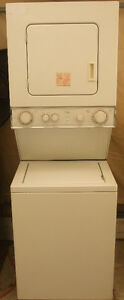 """WHIRLPOOL 24"""" STACKEABLE WASHER AND DRYER!"""