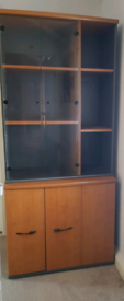 Bookcase shelving office storage cabinet