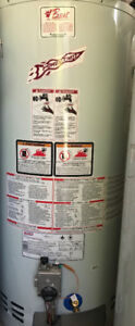 New Never Installed 40 Gal Gas Hot Water Tank Heater