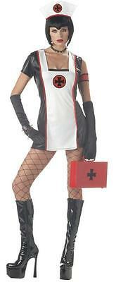DEADLY DOSE NURSE GOTH ADULT HALLOWEEN COSTUME WOMEN'S SIZE - Halloween Costumes Dead Nurse